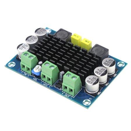 DC 12-24V 100W TPA3116D2 DA Mono Digital Audio Power Amplifier (Blue Plate) (100w Mono Amplifier)