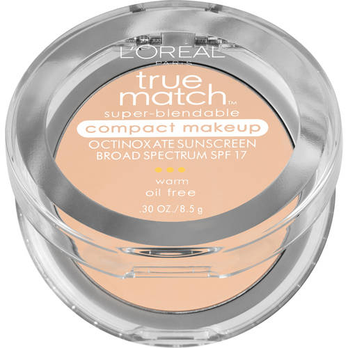 L'Oreal Paris True Match Super Blendable Compact Makeup with SPF 17