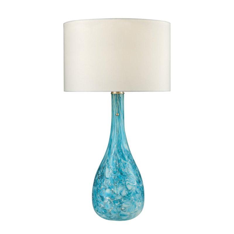 Dimond Lighting Mediterranean Table Lamp in Seafoam Green