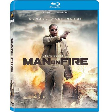 Man On Fire  Blu Ray   With Instawatch   Widescreen