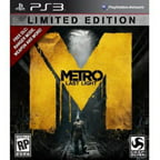 Metro Last Light Limited Edition - Playstation 3