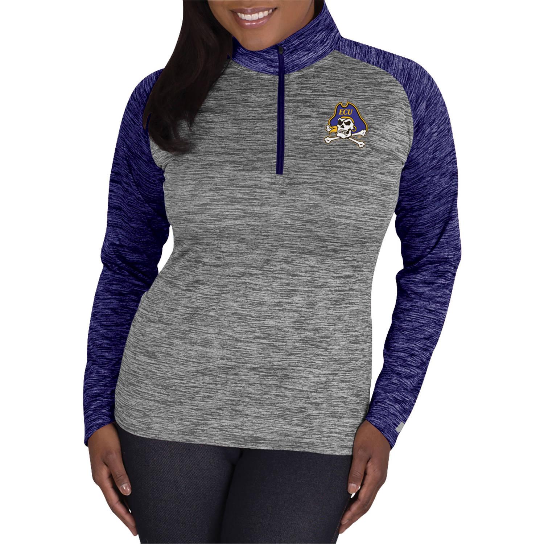 NCAA East Carolina Pirates Ladies 1/4 Zip Athletic-Fitness Pullover