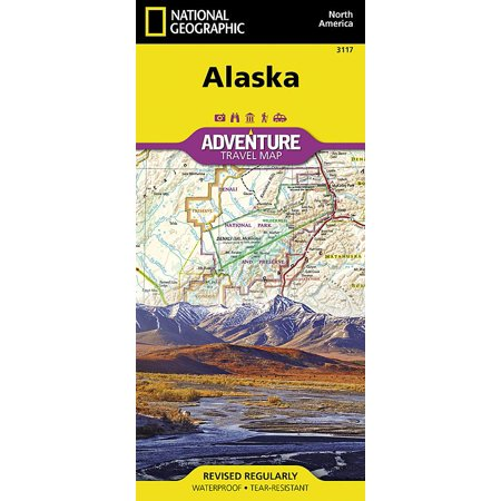 (National Geographic Adventure Map: Alaska (Other))