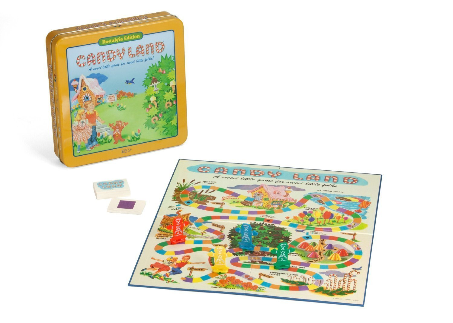 Candy Land Board Game Nostalgia Edition Game Tin by Winning Solutions