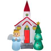 7.5' Airblown Church Scene Christmas Inflatable