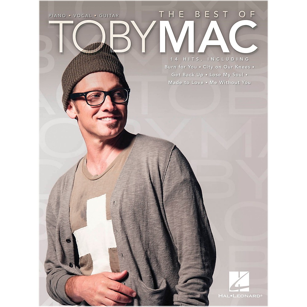 Hal Leonard The Best Of Toby Mac for PVG (Piano/Vocal/Guitar)