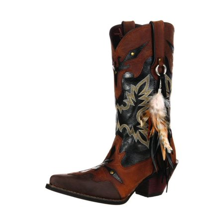 durango western boots womens crush gypsy underlay snip brown drd0065 (Gypsy Boots)