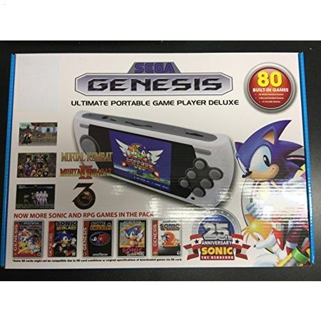 Sega Genesis Ultimate Portable Game Player Deluxe 80