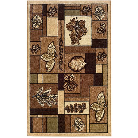 Linon Home 43 X 73 Capri Rug  Beige And Green