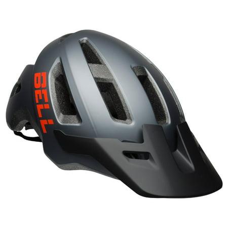 Bell Soquel Logo Bike Helmet, Titanium/Poppy, Adult 14+ (56-60cm)