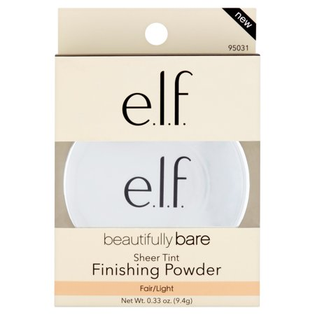 e.l.f. Cosmetics Beautifully Bare Sheer Tint Finishing Powder, Fair/Light](Elf Nakeup)