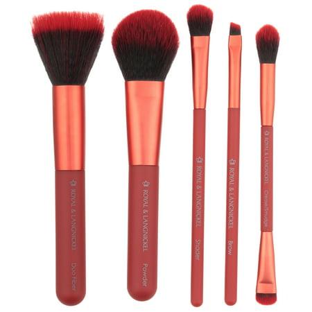 Royal and Langnickel® Moda™ Perfect Mineral Professional Makeup Brush Set 6 pc Peg