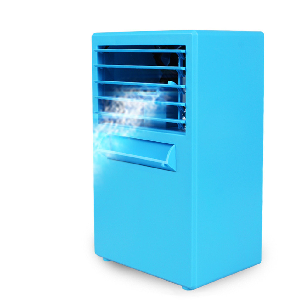 Outtop Portable Air Conditioner Fan Mini Evaporative Air Circulator Cooler Humidifier
