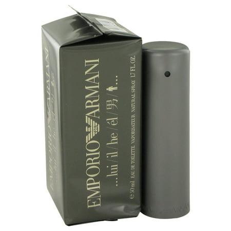 Giorgio Armani EMPORIO ARMANI Eau De Toilette Spray for Men 1.7 (Emporio Armani For Men)