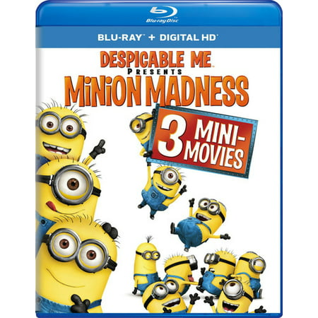 Despicable Me Presents: Minion Madness (Blu-ray) - The Movie Minions