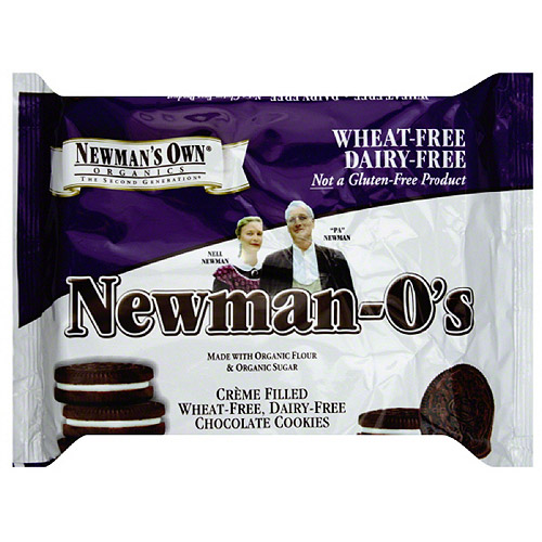 Newman's Own Organics Newman-O's Chocolate Cookies, 13 oz (Pack of 6)