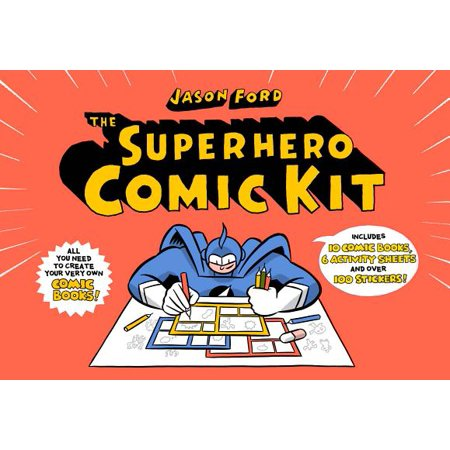 The Superhero Comic Kit (Who Are The Female Superheroes)