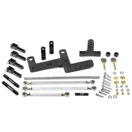 Weiand 7167WND Carburetor Accelerator Linkage Kit ()