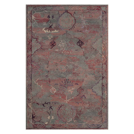 Safavieh Vintage Oushak Gaurss Hand-Tufted Area Rug or Runner, Red