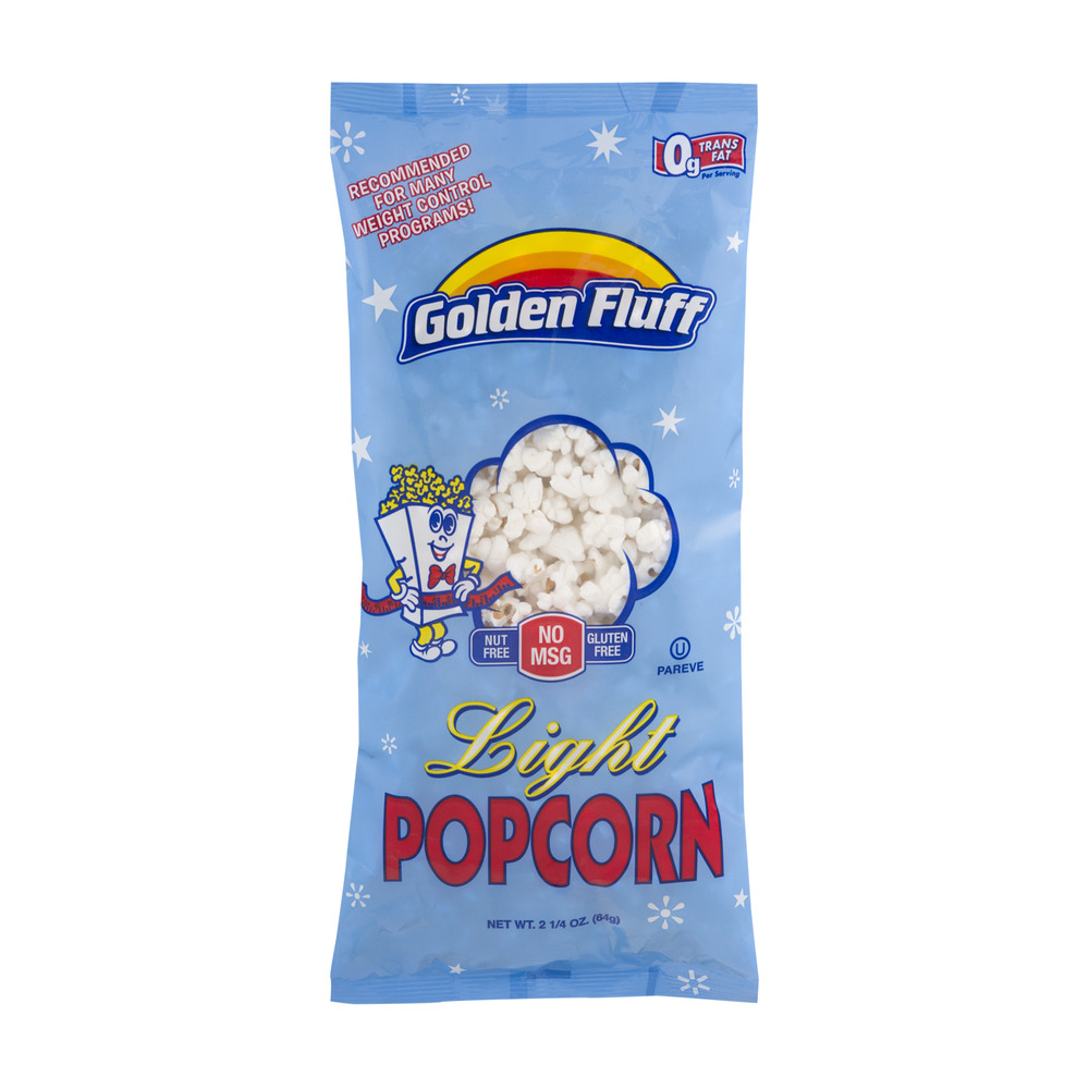 Golden Fluff Light Popcorn, 2.25 OZ