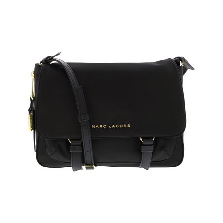 0cda760e1fd86 Marc Jacobs Women s Small Zip That Polyester Messenger Bag - Black -  Walmart.com