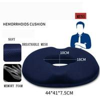 Hemorrhoid Treatment Donut Tailbone Cushion for Hemorrhoids, Prostate Cushion, Pregnancy Cushion Comfort Foam Hemorrhoid Pillow
