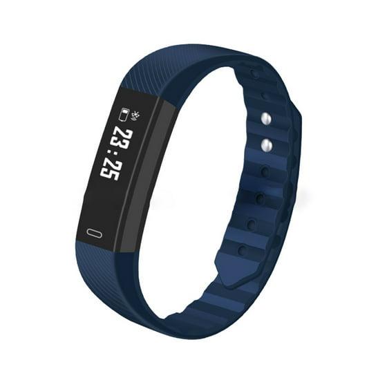 Smart Watch IP67 Waterproof LCD Digital Smart Blacelet Activity Tracker  Pedometer Color:Black