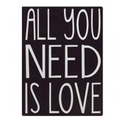 """Eccolo Ewt Journal Essential,  All You Need Is Love 5X7"""""""