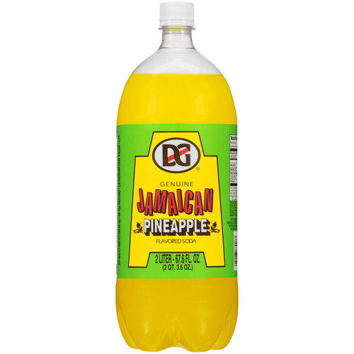 D&G Genuine Jamaican Pineapple Flavored Soda, 2 l
