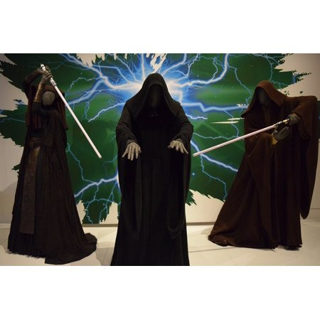 Canvas Print Cloaks Outfits EMT Starwars Sith Costume Stretched Canvas 10 x 14 (Sith Outfit)