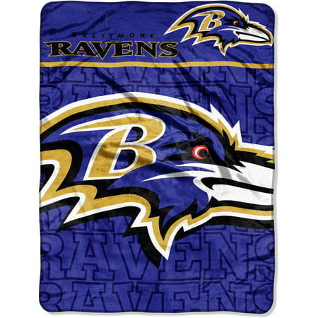 "NFL Baltimore Ravens 46"" x 60"" Micro Raschel Throw, 1 Each"