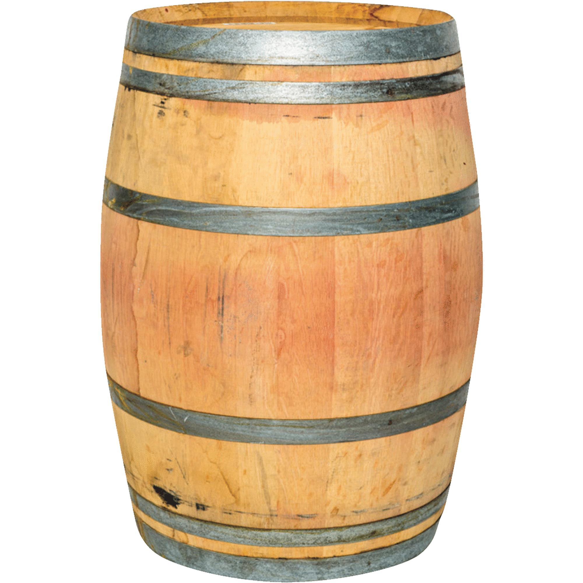Authentic Whole Oak Wine Barrel, Repurposed