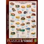 EuroGraphics Turtles 1000-Piece Puzzle