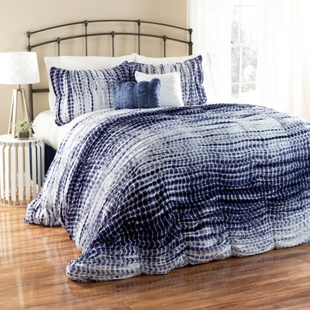 Pebble Creek Tie Dye Duvet Covers 3-Piece Bedding Comforter Set