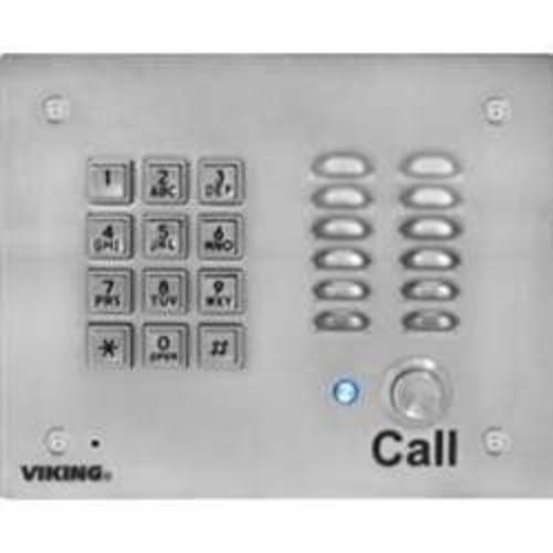 Viking K-1700-IP-EWP Voip Stainless Steel Entry Phone