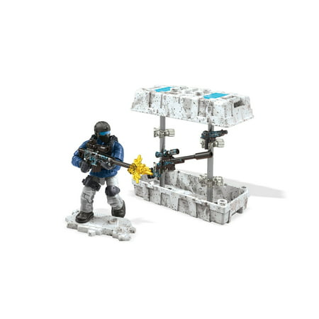 Mega Construx Call of Duty Care Package with Action Figure, Blue