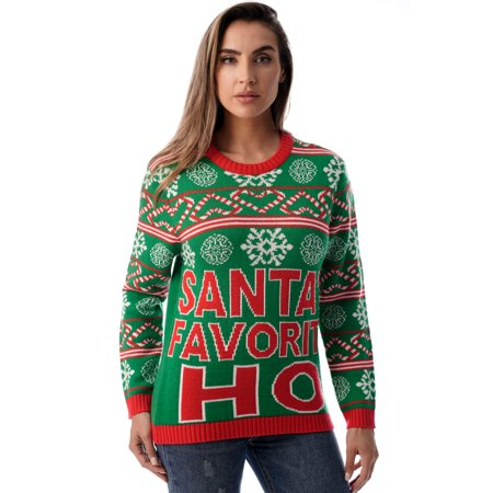 #followme Womens Ugly Christmas Sweater - Sweaters for Women ()