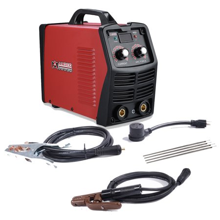 MMA-200, 200 Amp Digital Display LCD Stick ARC DC Welder, 115V & 230V Dual Voltage Welding Machine