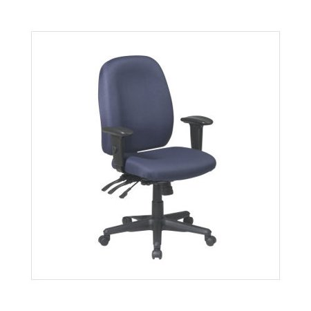Office Star Ergonomic Back Office Chair Adjustable Soft Padded Arms Products