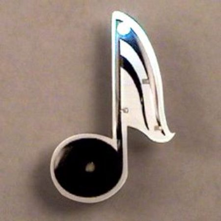Music Note Flashing Body Light Lapel Pins (Music Note Lights)