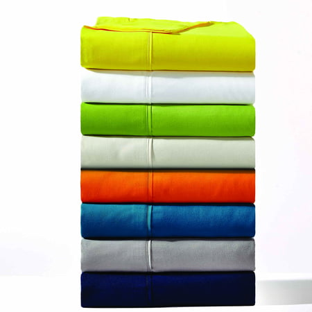 Pacific Coast Textiles Bright Solid Microfiber Polyester Sheet Set Wht 50 Sheet