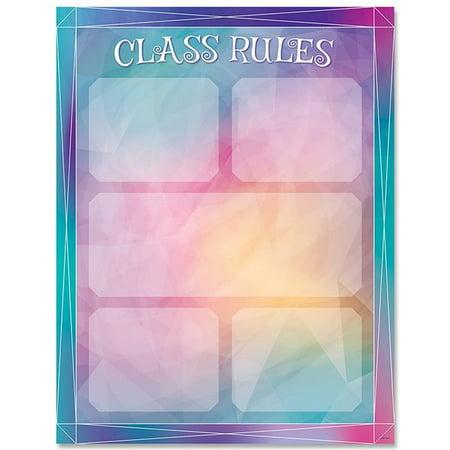 Creative Teaching Press CTP8629 Mystical Magical Class Rules Chart - Teaching Store