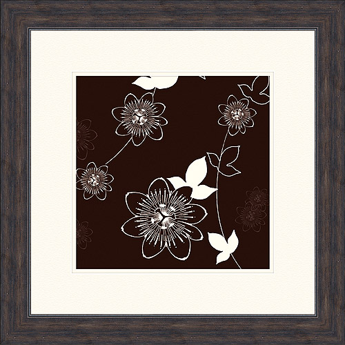 Floral in Motion Framed Artwork, II by