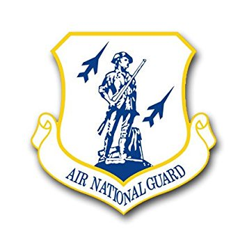 MAGNET US Air Force Air National Guard Decal Magnetic Sticker 5.5