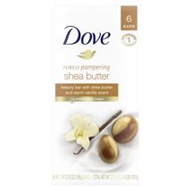 Bar Soap: Dove Beauty Bar Purely Pampering