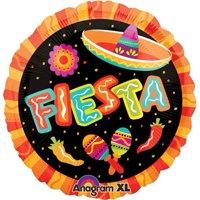 "Fiesta More Fun Party Spanish 18"" Mylar Foil Balloon"