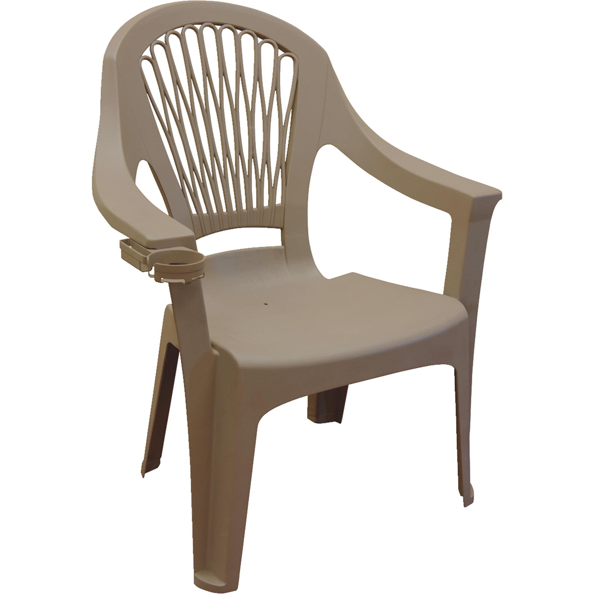 Adams Big Easy High Back Stackable Chair