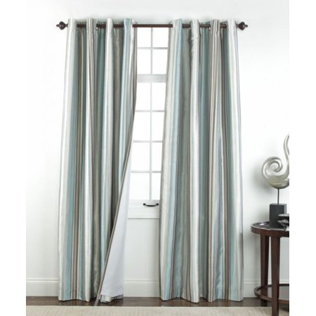 Belle maison serene spa blackout grommet top curtain panel for Decoration maison walmart