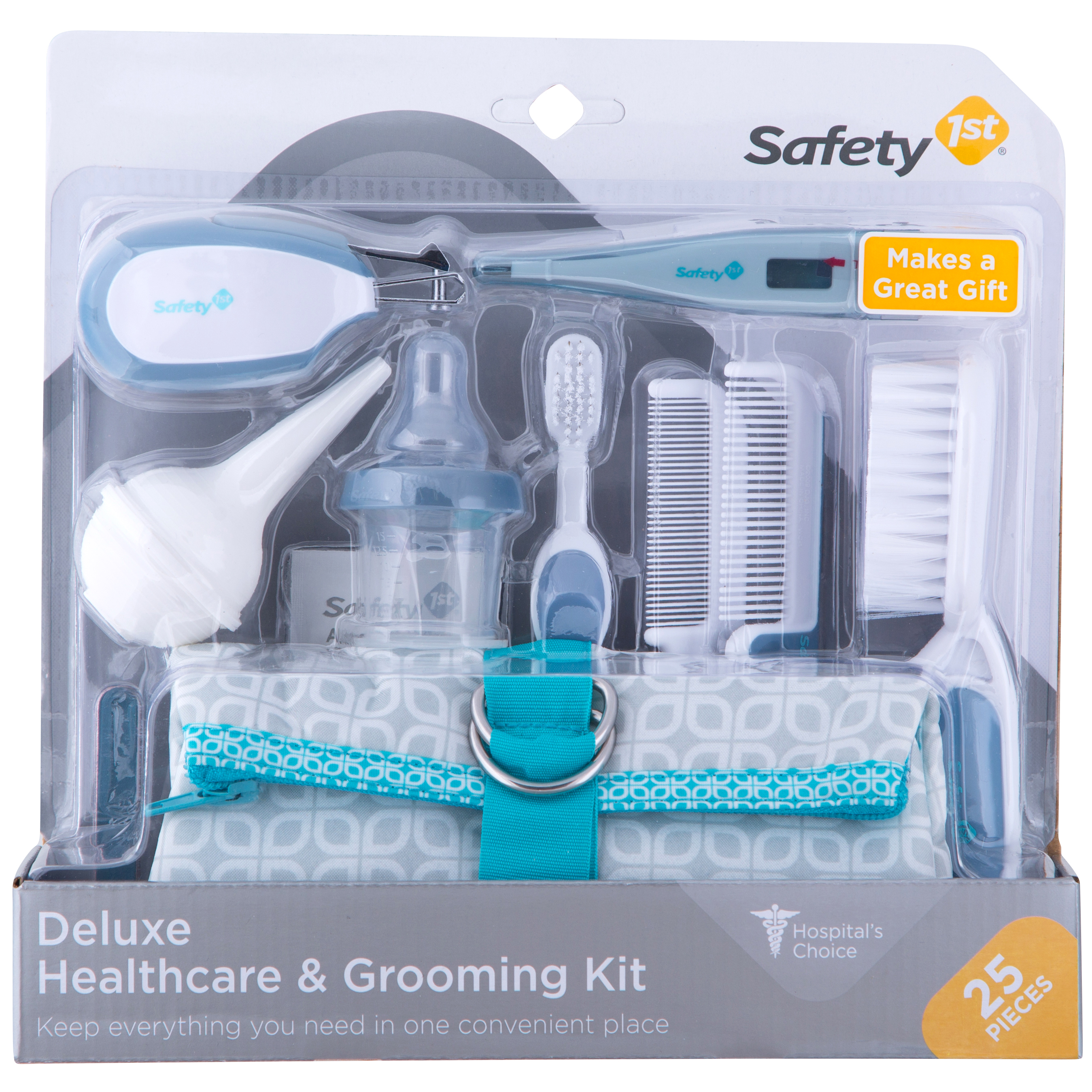 Safety 1st Deluxe All-In-One Healthcare & Grooming Kit, Blue
