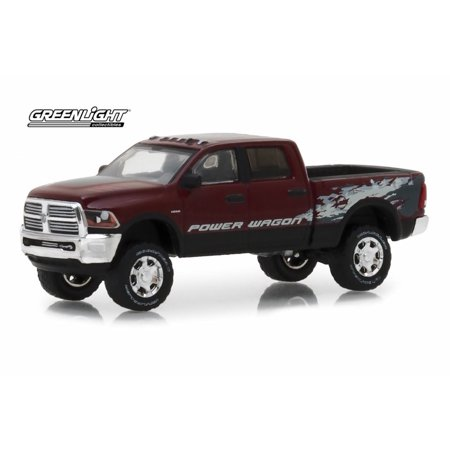 2016 Dodge Ram 2500 Power Wagon, Red Pearl - Greenlight 29981/48 - 1/64 scale Diecast Model Toy Car 1950 Dodge Power Wagon